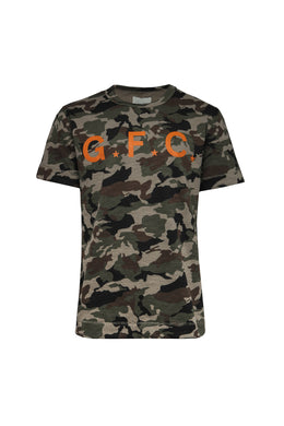 Graphic Camo Tee (Army Green)