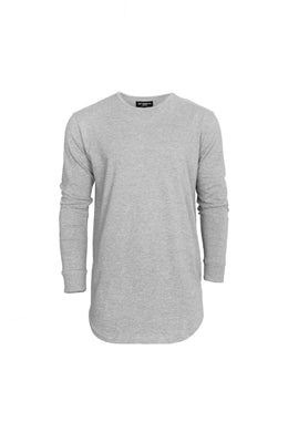 L/S Scoop Tee (Grey)
