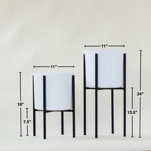 "Oliver 17"" + 23"" Set - Plant Stands - By plantwares™"