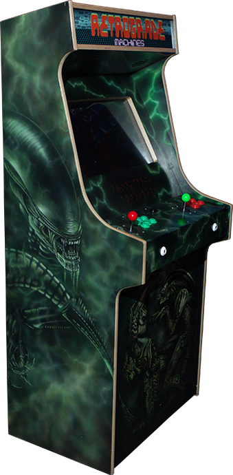 PREMIUM QUALITY STAND UP ARCADE MACHINES WITH CUSTOM ARTWORK