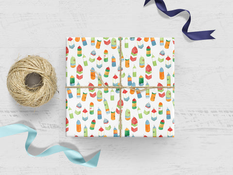 Lobster Buoys Gift Wrap