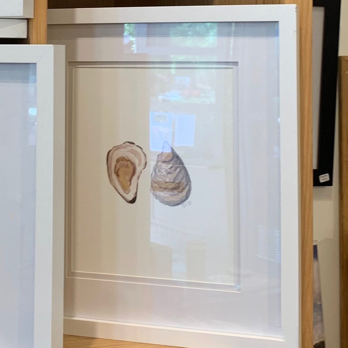 Oysters  -  8X10 (un-framed) Watercolor Print