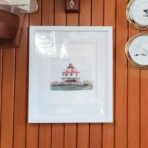 Thomas Point Light House -  8X10 (un-framed) Watercolor Print