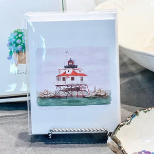 Thomas Point Lighthouse - A2 Boxed Notecards with Envelopes