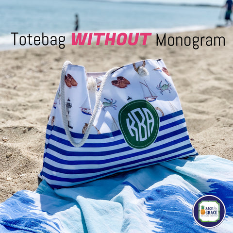 Totebag with Rope Handles - Not Monogrammed