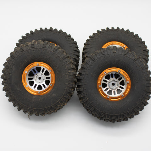 1.9 Knock off wheels and tires (Set of 4)