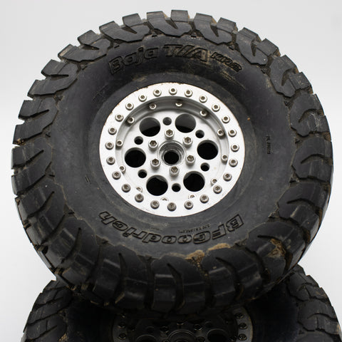 "BFGoodrich Baja T/A KR2 2.2"" G8 with 2.2 Knock off wheels (4 Pcs) - Used"
