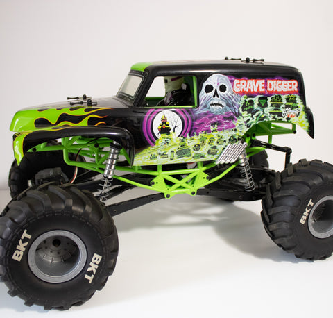 SMT10 Grave Digger 1/10th 4wd Monster Truck RTR - No Box Gen1