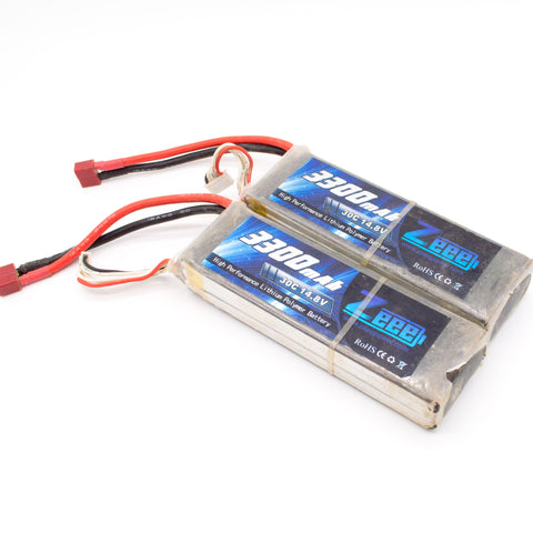 Zeee 3300mAh High Performance Lithium Polymer Battery 30C 14.8 4S