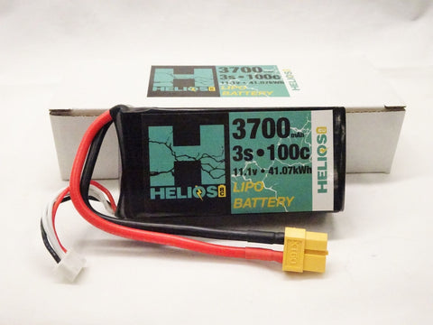 3S 3700 mAh 45c Shorty Lipo