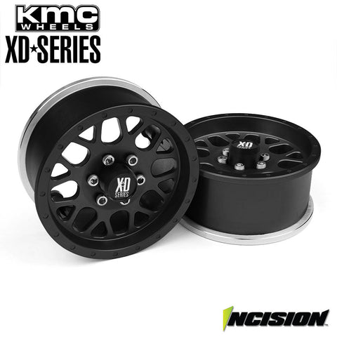 INCISION KMC 1.9 XD820 Grenade Black Anodized [SINGLE] (1) - NEW