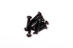 M3x15mm Hex Socket Tapping Button Head (Black) (10pcs)
