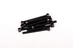 M3x30mm Cap Head - Black (10pcs)