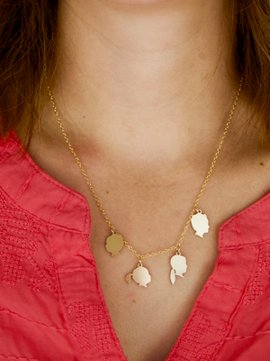 The Gold Charm Necklace