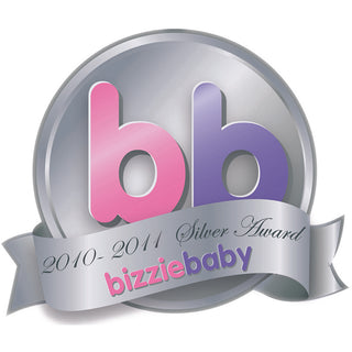 bizziebaby Tiddley Pom Silver Winner