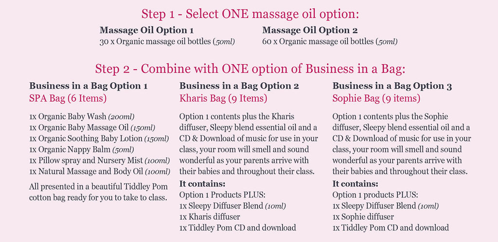 Business in a bag offer graphic