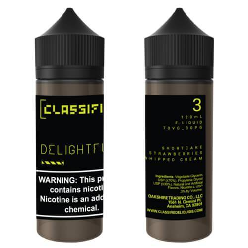 Classified E-Liquid - Delightful