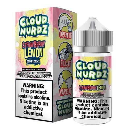 Cloud Nurdz eJuice - Strawberry/Lemon
