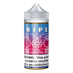 Ripe Collection by Vape 100 eJuice - Blue Razzleberry Pomegranate