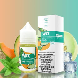 Wet Liquids SALT - Melon Menthol