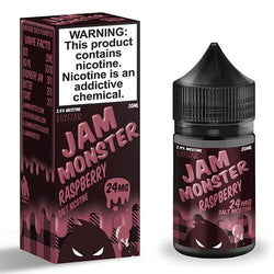 Jam Monster eJuice SALT - Raspberry