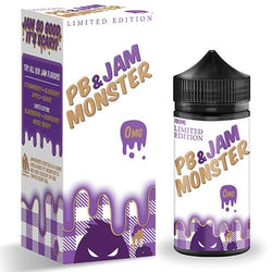 Jam Monster eJuice - PB & Grape Jam