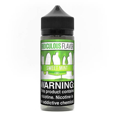 Ridiculous Flavor Vape Juice - Sweet Mint