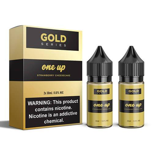 Gold by One Up Vapor - Strawberry Cheese Cake