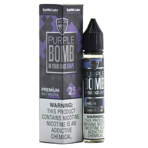 VGOD and SaltNic eJuice - Purple Bomb