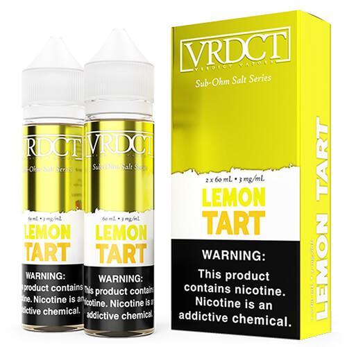Verdict Vapors Sub Ohm Salts - Lemon Tart