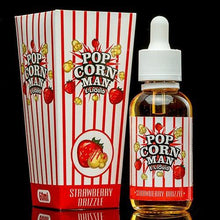 Popcorn Man E-Liquid - Strawberry Drizzle