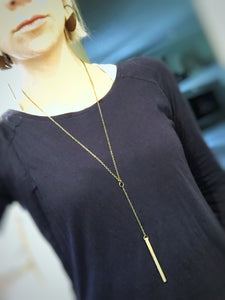 Drop Pendant Necklace - The Branded Branch