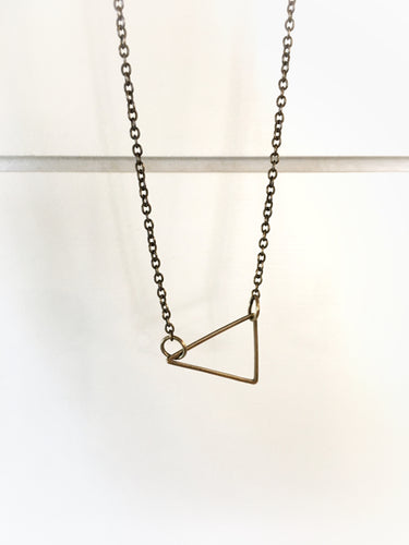 Basic Triangle Necklace