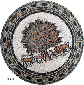 Mosaic Tabletops, The Tree of Life