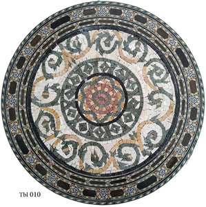 Mosaic Tabletops, Geometric form