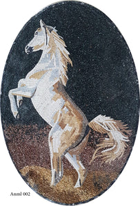The Mosaic Horse