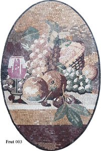 Fruit Mosaic Panels
