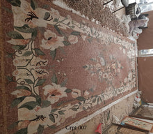 The mosaic Flooring