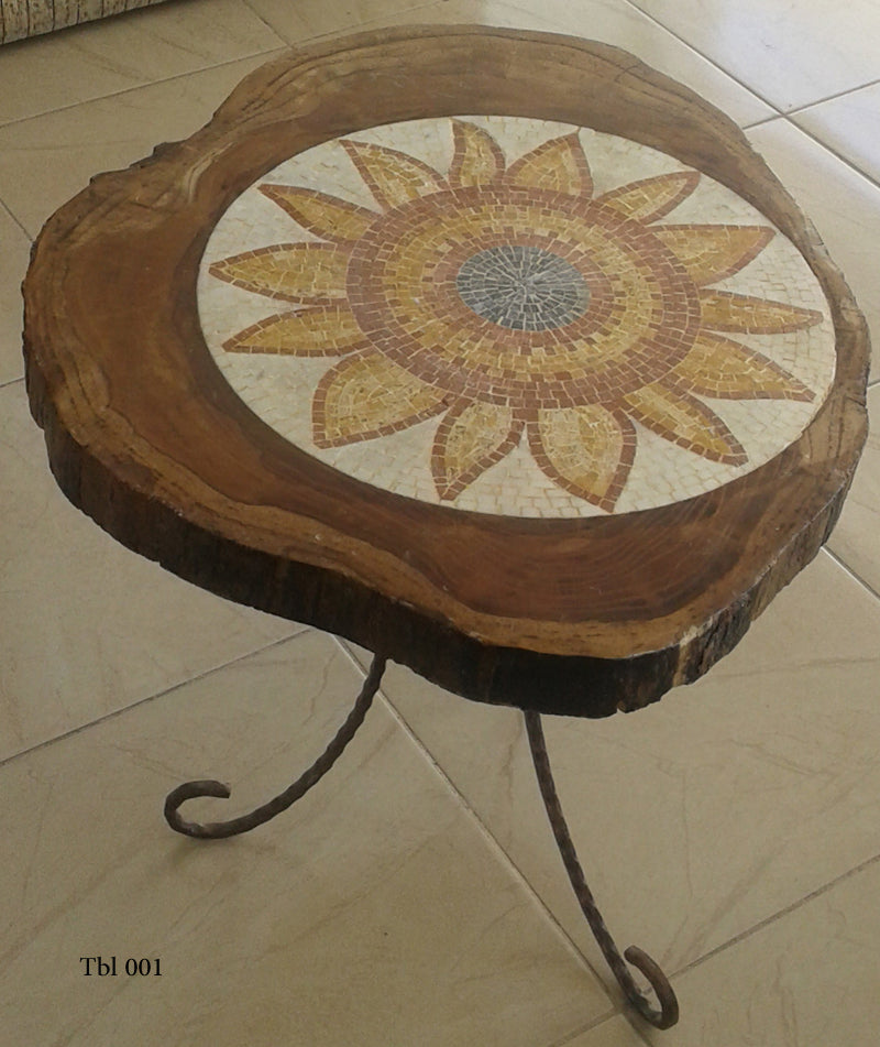 Outdoor Mosaic Table
