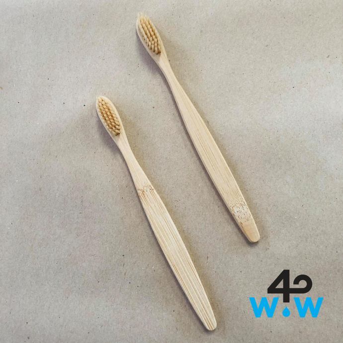 Buy One, Give One Wood Toothbrush (no pledge)