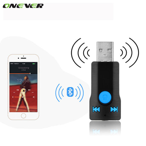 3.5mm Car Wireless Bluetooth Receiver Bluetooth Audio Music Adapterbluetooth adapter Support Hands-free Call for Car Speaker MP3
