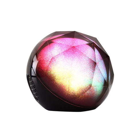 Portable Ball Shape Bluetooth Loudspeaker Color Changing LED Light Remote Control