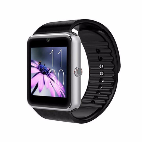 JQAIQ GT08 Bluetooth Smart Watch Phone with SIM Card Slot for Android