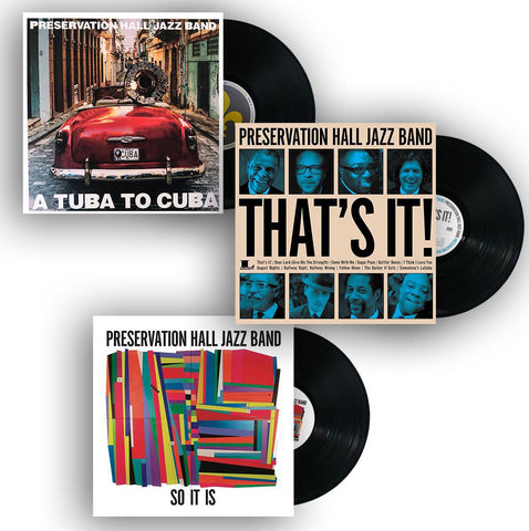 PRESERVATION HALL JAZZ BAND VINYL Bundle