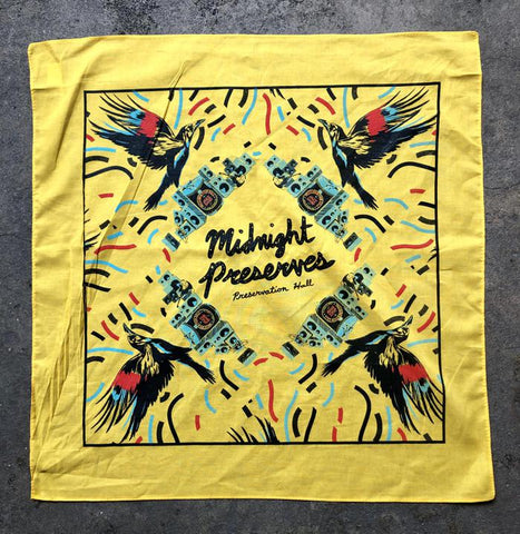 Crow Audio Bandana - Midnight Preserves 2019
