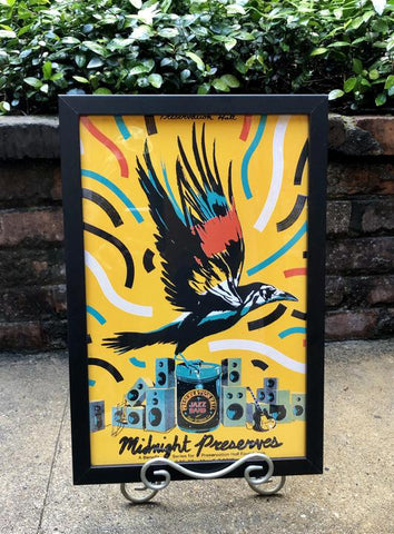 "UNSIGNED - 11""x 17"" Midnight Preserves 2019 Commemorative Poster"