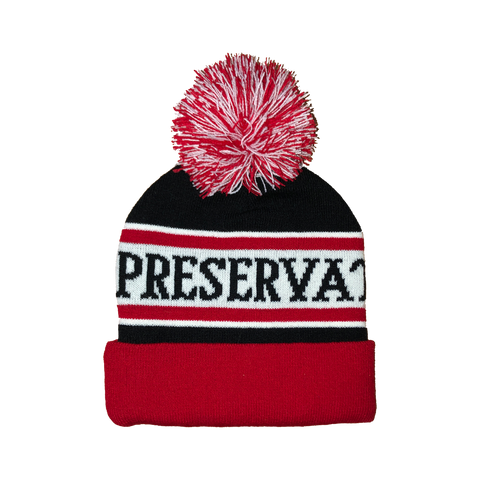 Pom Pom Beanie - Limited Edition