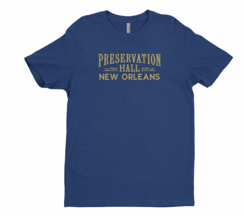 Blue & Gold Preservation Hall Unisex Tee