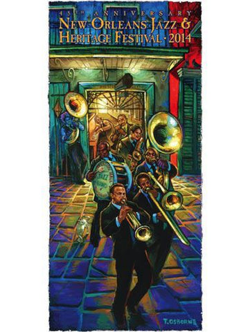 UNSIGNED - 2014 Jazz Fest Poster