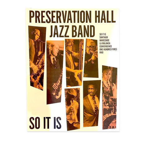 So It Is Jazz Band Poster